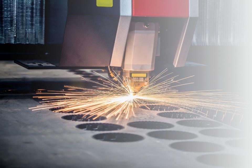 Laser Cutting Fade Test
